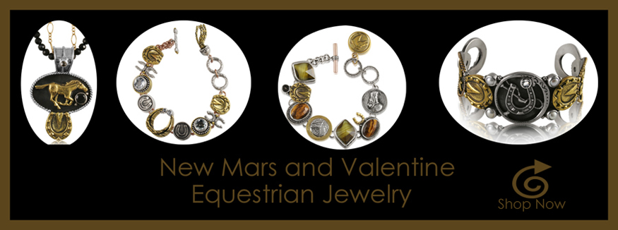 New Mars and Valentine Equestrian Jewelry Banner